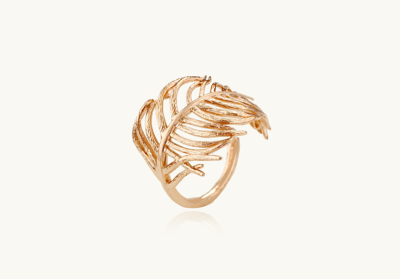 Le Changement, Feather Filigree Ring